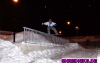Boardslide irgendwo in Oybin Hain in der Lausitz/GER - Winter 2004/05