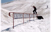BS Boardslide beim Iceripper Camp in Engelberg/Titlis/CH - Sommer 2003