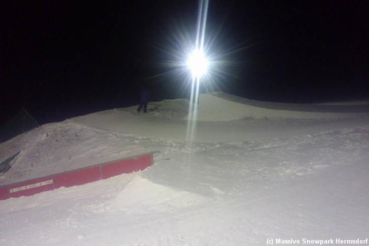 Massive Snowpark Hermsdorf/Osterzgebirge
